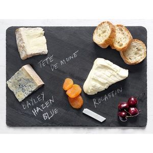 Anthropologie slate charcuterie board. NEW